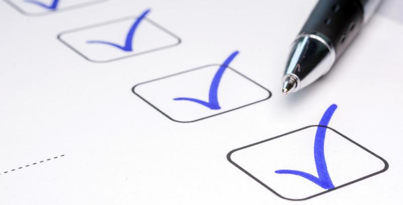 checklista för digitala möten